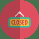 Closed folded icon