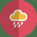 Rain folded icon