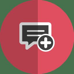 Ad msg folded icon