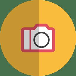 Camera folded icon