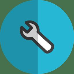 Setting 2 folded icon