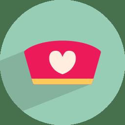 Medical cap icon