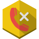 Call rejected icon