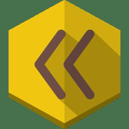 Previous 2 icon