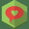 Love-message icon