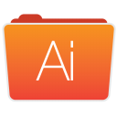 Illustrator Folder icon