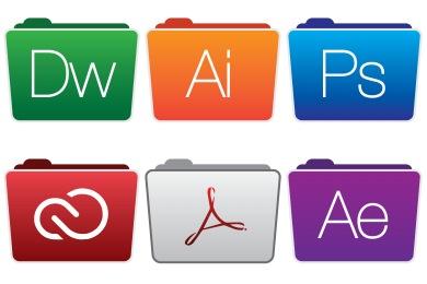 Adobe Folders Style 2 Icons