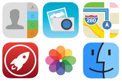 Stock Style 3 Icons