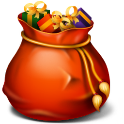 Recycle Bin Full Icon Red Christmas Iconset Harwen