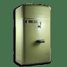 Vintage-fridge-green icon