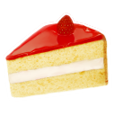 Strawberry cake icon