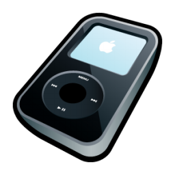 Ipod Video Black Icon 3d Cartoon Vol 2 Iconset Hopstarter