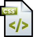 File Adobe Dreamweaver CSS 01 icon