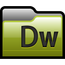 Folder Adobe Dreamweaver 01 icon