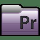Folder Adobe Premiere 01 icon