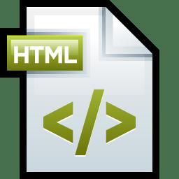 File Adobe Dreamweaver HTML 01 icon