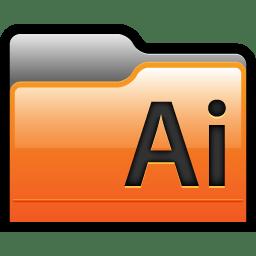 Folder Adobe Illustrator 01 icon