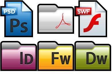 Adobe CS4 Icons