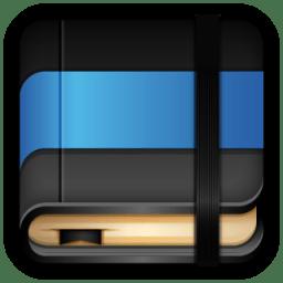 Moleskine Blue Book icon