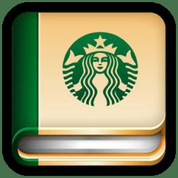 Starbucks Diary Book icon