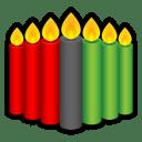 Kwanzaa-Candles icon