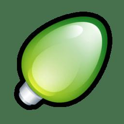 Christmas Light Green icon