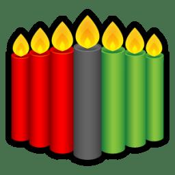 Kwanzaa Candles icon
