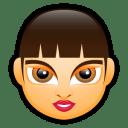 Female-Face-FA-3 icon