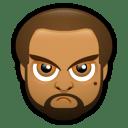 Male Face J2 icon