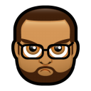 Male Face J3 icon