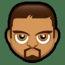 Male Face O1 icon