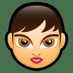 Female Face FA 2 icon