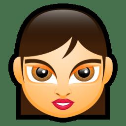 Female Face FA 4 icon