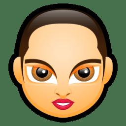 Female Face FA 5 icon