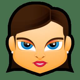 Female Face FB 1 icon