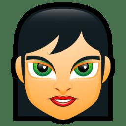 Female Face FC 1 icon