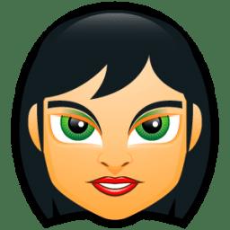 Female Face FC 5 icon