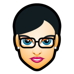 Female Face FH 5 slim icon
