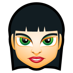 Female Face FI 5 icon