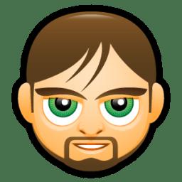 Male Face C4 icon