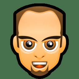 Male Face F2 icon