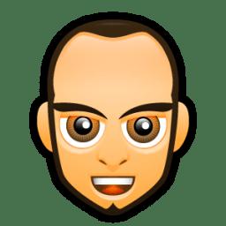 Male Face F3 icon