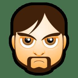 Male Face I1 icon