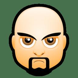 Male Face I3 icon