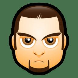 Male Face I4 icon