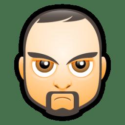 Male Face I5 icon