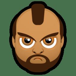 Male Face J1 icon