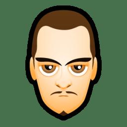 Male Face L5 icon