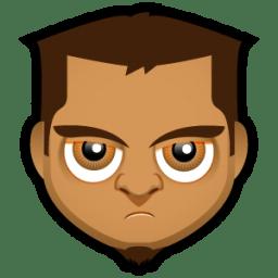 Male Face O5 icon