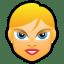 Female-Face-FE-2-blonde icon